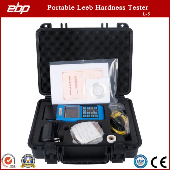 Metal Hardness Testing Machine L-5 Portable Digital Instruments