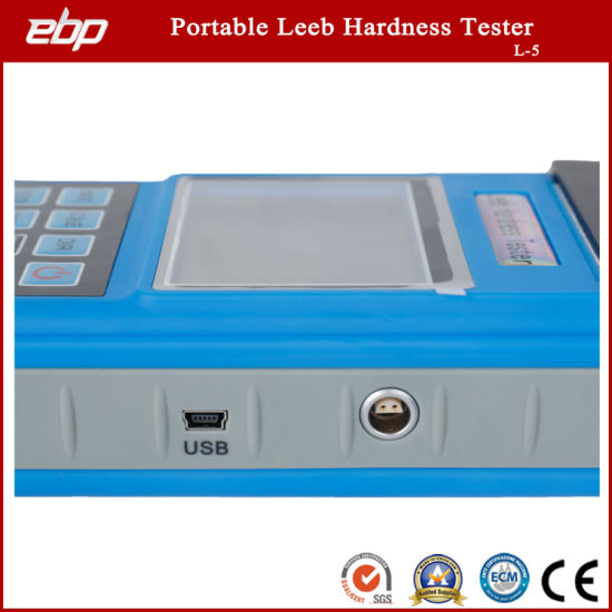 High Quality Portable Color Screen Digital Rebound Hardness Testing Tool