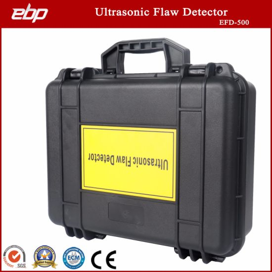 Portable Digital Ultrasonic Testing Flaw Detector with Automated Calibration Automated Gain