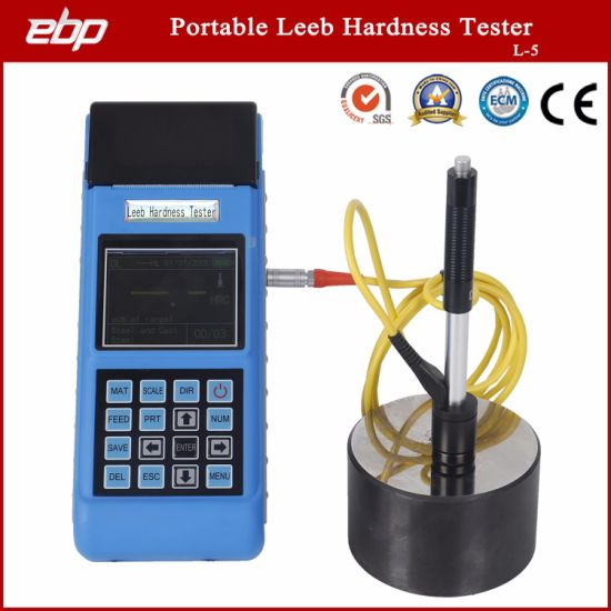 Portable Digital Color Screen Rebound Hardness Testing Tool