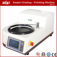 Single Plate Metallographic Sample Surface Grinding Polishing Machine Stepless Speed
