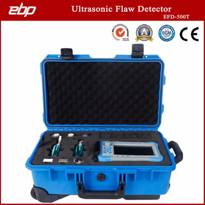 Portable Universal Ultrasonic Flaw Detector Test Equipment with LED Backlight Bright Color Display