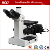 Inverted Trinocular Metallurgical Microscope E-200A for Metallographic Structure Observe