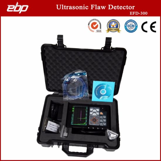 Specialized Portable Digital Ultrasonic Testing Flaw Detector with Automated Calibration Automated Gain