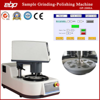 Twin Platen Semi-Auto Sample Grinding Polishing Mill Machine