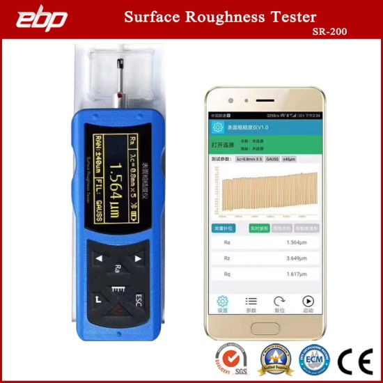 0.001 Accuracy Portable Digital Surface Roughness Tester with Different Units