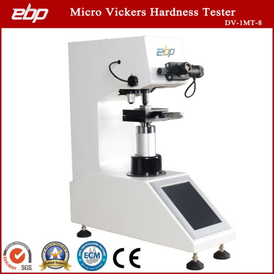 Touch Screen Digital Micro Vickers Hardness Testing Machine DV-1mt-8