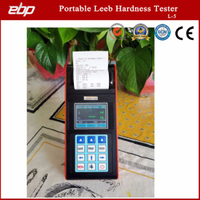 Color Screen Portable Digital Rebound Leeb Hardness Testing Equipment