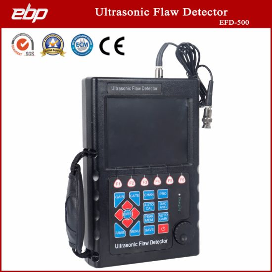 NDT High Sensitivity Testing Machine Portable Digital Ultrasonic Flaw Detector for Crack Detection