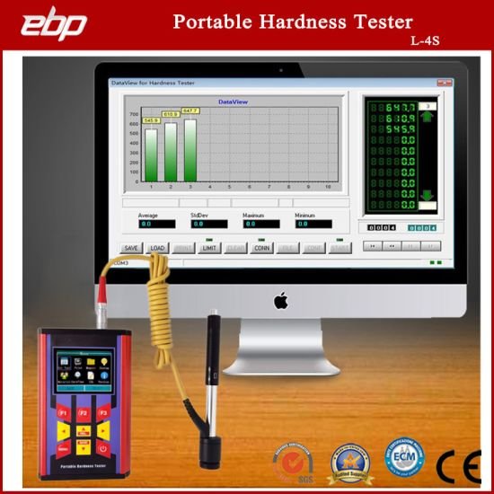 Rebound Hardness Tester with Digital Color Screen Display