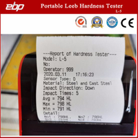 Portable Digital Rebound Hardness Testing Tool with Printer