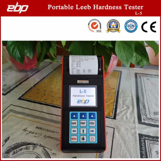 Portable Color Screen Digital Rebound Leeb Hardness Testing Instrument