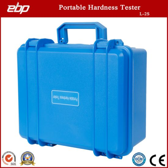 Digital Portable Rebound Leeb Hardness Tester with Metal Shell L-2s