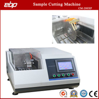 LCD Touch Screen Control Metallurgical Sample Preparation Cutting Machine