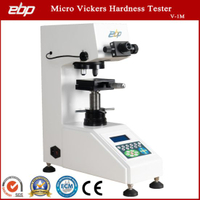 Micro Hardness Tester Machine with Vickers Diamond Indenter V-1m Durometer