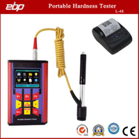High Precision Portable Digital Hardness Tester Support D / Dl / G / DC / C Prob
