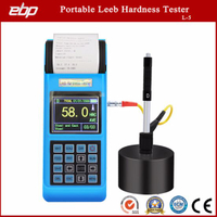 Portable Digital Leeb Sclerometer Support D / Dl / G / DC / C Prob