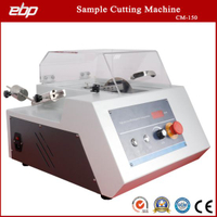 Precision Sample Cutter Machine with Diamond Cutting Wheel