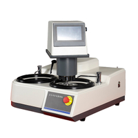 Double Plates Fully Automatic Metallographic Sample Grinding Polishing Machine