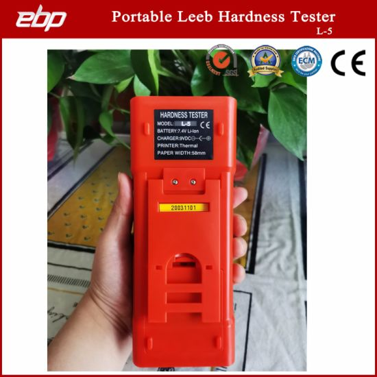 High Quality Color Screen Digital Portable Leeb Hardness Tester with Printer