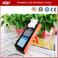 Color Screen Portable Digital Hardness Testing Equipment with Printer